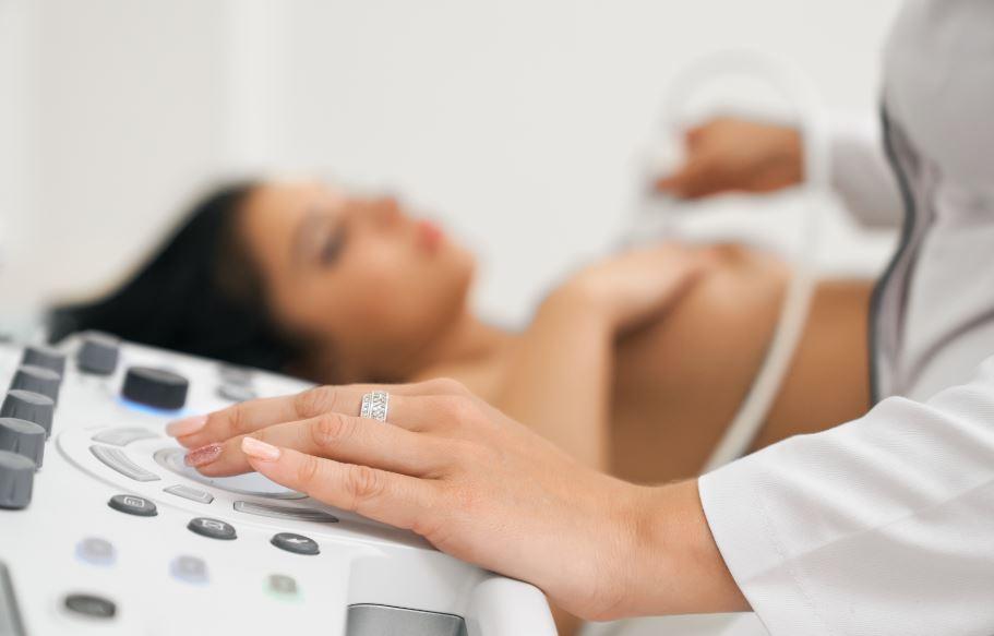 Ultrassonografia das mamas