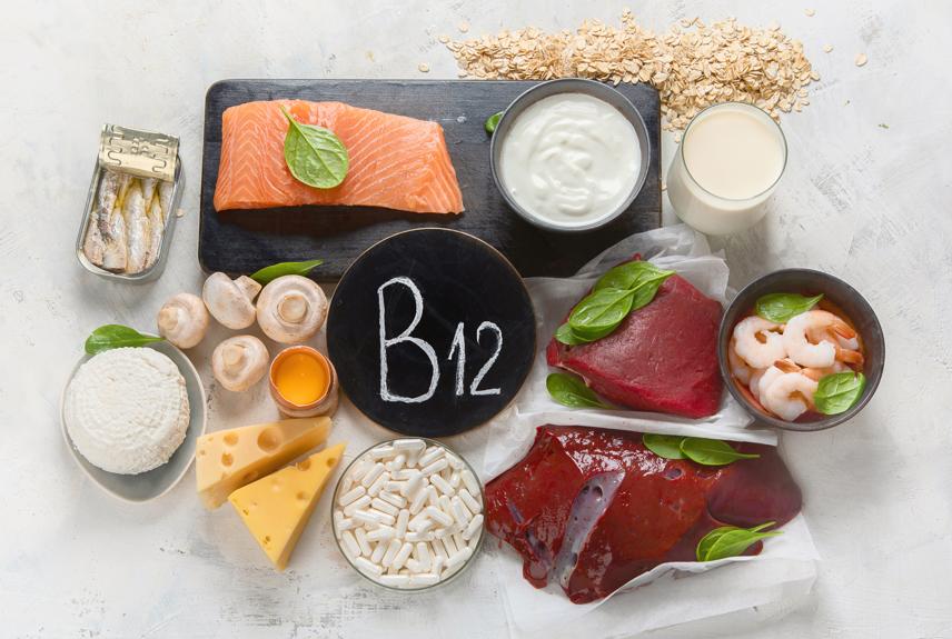 Vitamina B12 e quais alimentos consumir