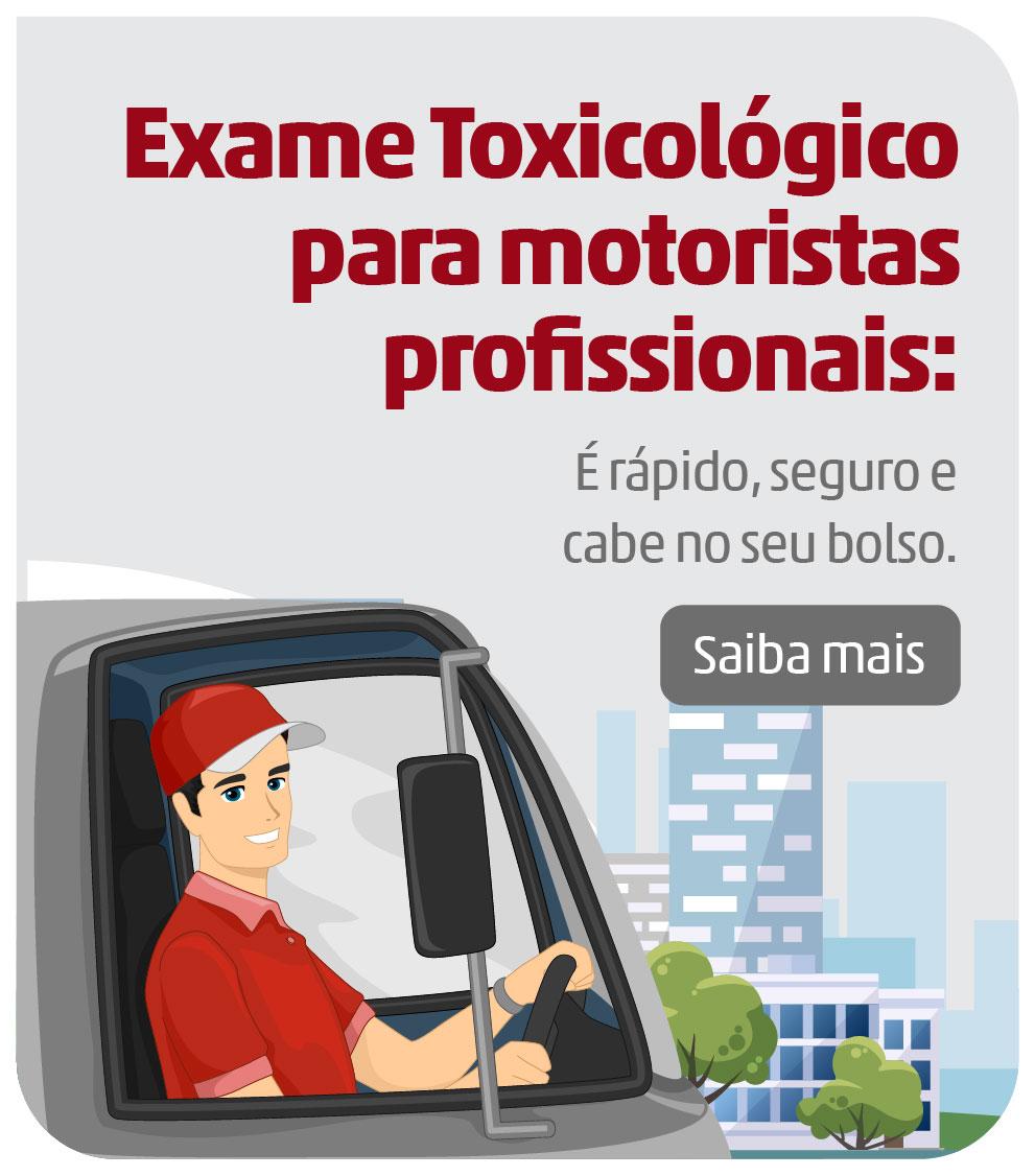 Exame Toxicológico Alvaro