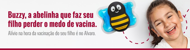 Aqui no Alvaro você encontra mais conforto para as crianças com o Buzzy