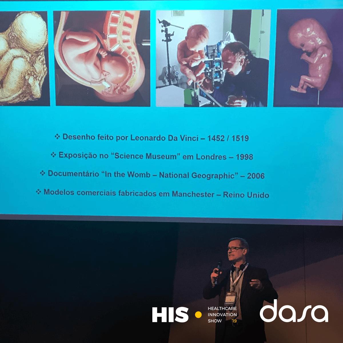 Tecnologia 3D na saúde - HIS 2019