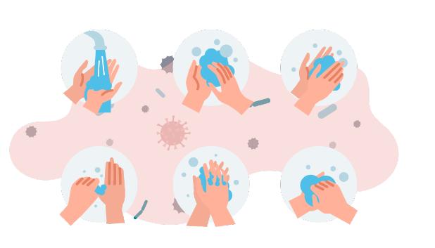 lavar mão higiene contra covid-19