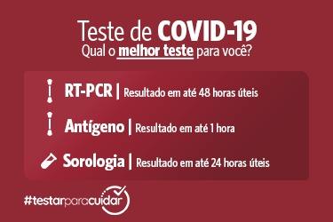 Teste COVID-19- Diferenças