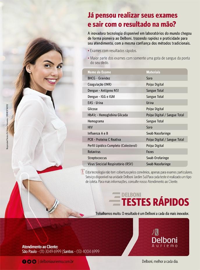 Exames de Testes Rápidos