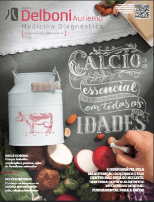 Revista do paciente 8ª edição - Cálcio, essencial em todas as idades