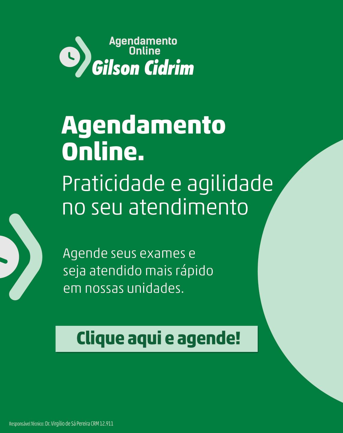 Agendamento Online Gilson Cidrim