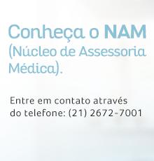 NAM: Núcleo de Assessoria Médica