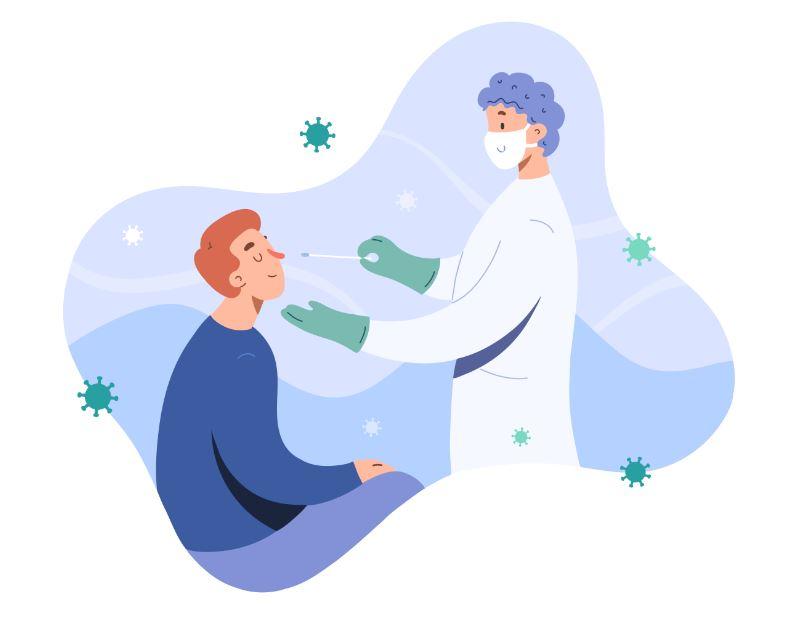Teste de antígeno para coronavírus