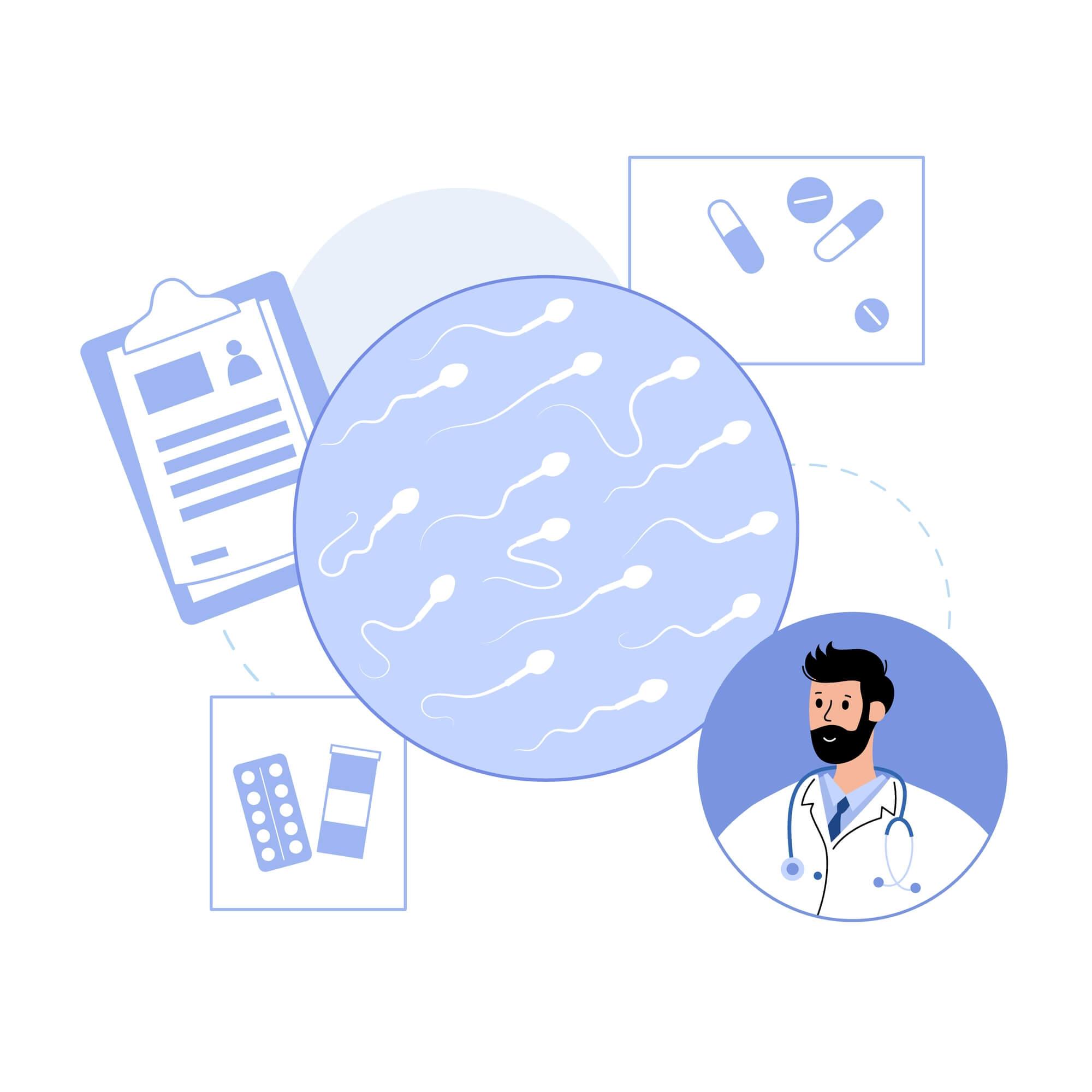 pergunte ao médico sobre espermograma