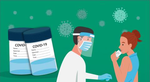RT-PCR Salivar: o teste de COVID-19 simples e indolor feito pela saliva